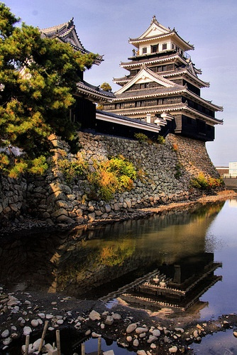 Wow! Surprised! That's from my smalll home town!!! x  Nakatsu Castle, Oita, Japan: photo by ojisanjake