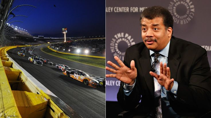 Neil deGrasse Tyson Gives Us A Detailed Breakdown Of NASCAR Physics.. This is awesome, Dr. Tyson jumped in the comments thread of a Jalopnik article to show his math.