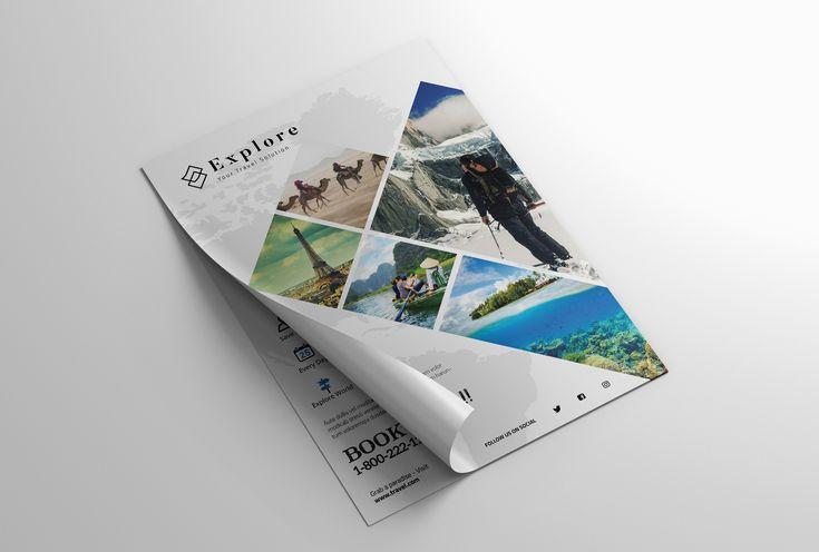 다음 @Behance 프로젝트 확인: \u201cFlyer Travel\u201d https://www.behance.net/gallery/46947765/Flyer-Travel