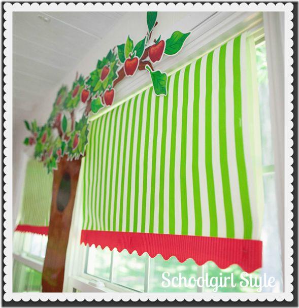 Classroom Curtain Ideas : Best images about preschool bulletin board ideas on