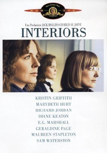 Geraldine Page, in Interiors approximately 19 minutes and 20 seconds* 22.7% of the film     The film  Three sisters find their lives spinnin...
