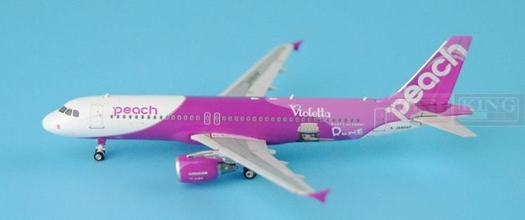 88.38$  Buy now - http://ali63s.worldwells.pw/go.php?t=32596042226 - Phoenix 04076 peach aviation JA804P 1:400 A320 commercial jetliners plane model hobby 88.38$