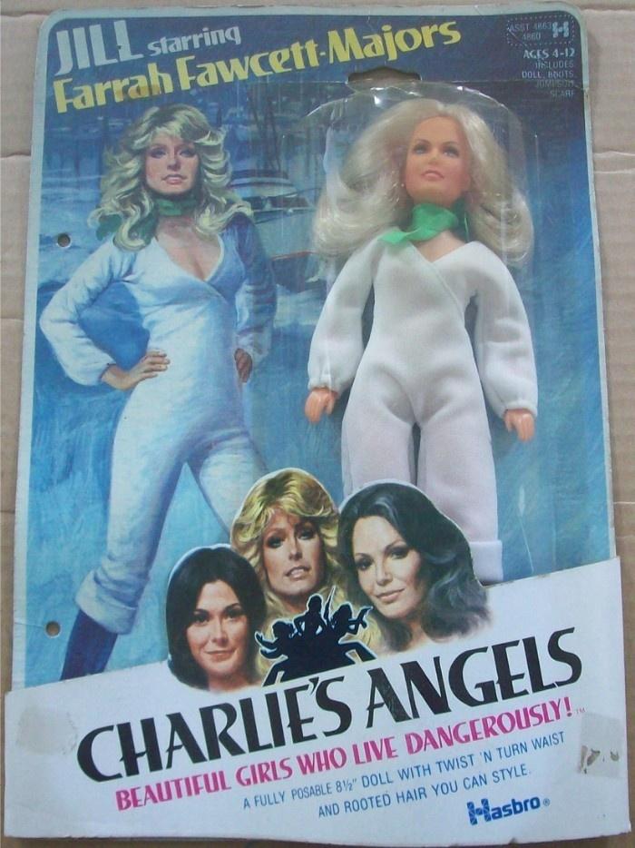 HASBRO: 1977 Charlie's Angels JILL doll (Farrah Fawcett) #Vintage #Toys