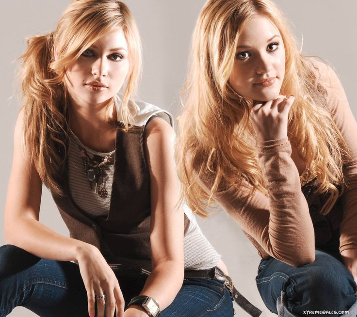 Aly and AJ Michalka ✾