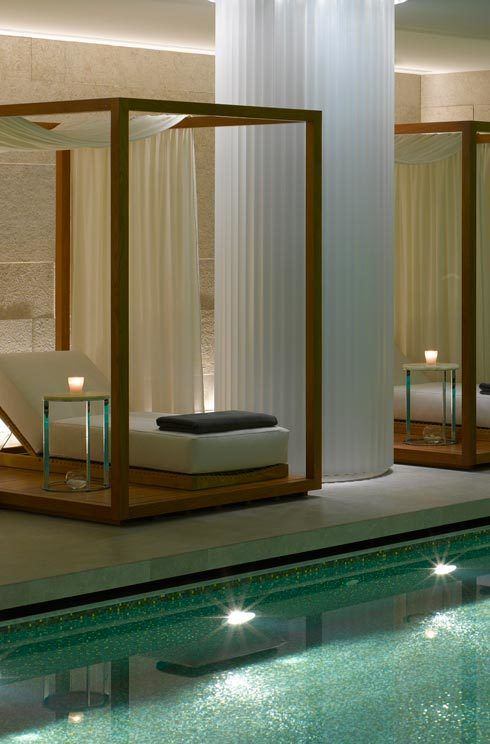 The Bulgari Hotel  Spread across two floors, the Bulgari Hotel Spa is one of the largest in London - complete with 11 individual treatment rooms, a private spa suite for two and a 25m mosaic tiled swimming pool. The spa menu offers holistic relaxation and escapism in the most luxurious surroundings. What to book: Thai Escape full body massage, £250 for 120 minutes. 171 Knightsbridge, London, SW7 1DW; 0207 151 1010; bulgarihotels.com   - HarpersBAZAAR.co.uk