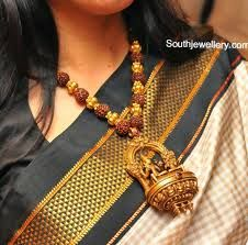 Image result for rudraksha gold jewellery