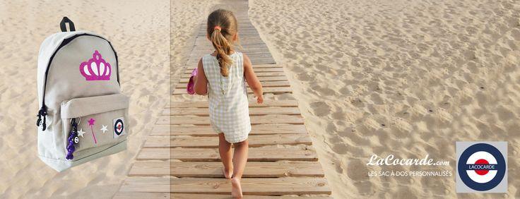 Sac à dos personnalisés pour enfants LACOCARDE /  Site LACOCARDE.COM