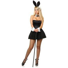 Sexy Playtime Bunny Adult Costume -- Hugh Hefner has passed on but he can be commemorated with this sexy Playboy Bunny Costume! #Playboy #HughHefner #Halloween