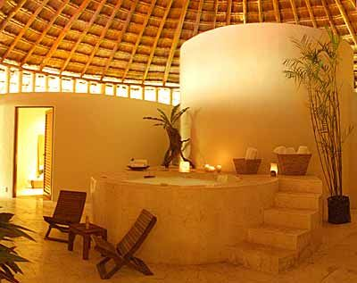 Relaxing spa in Mexico #StylishComfort