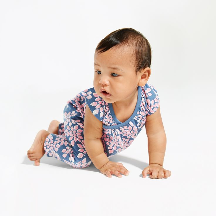 Alexis is a popular Australian girl's name. This fun floral romper will be a popular pick in her closet.