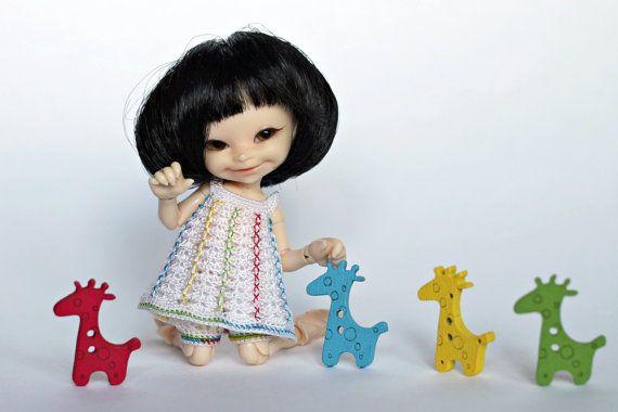 IN voorraad Outfit voor realpuki: jurk en pompoen door AmberFool