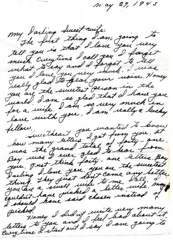 romantic love letter