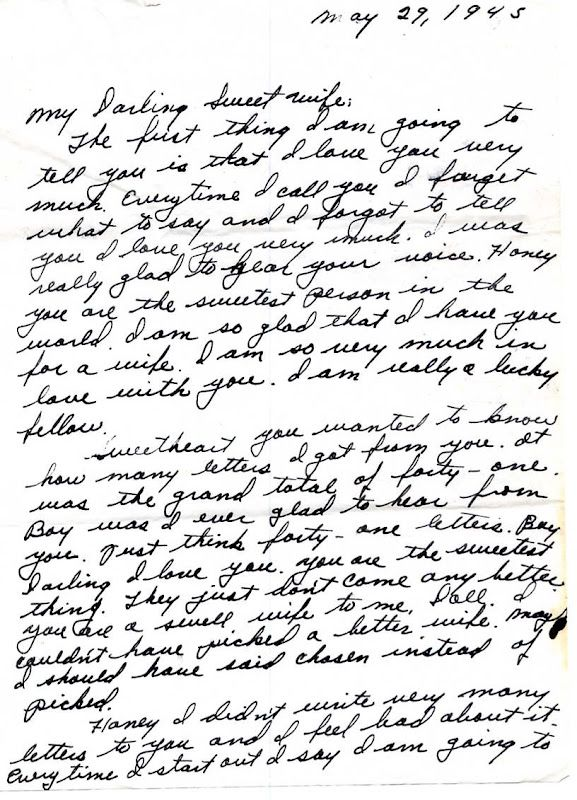 osage bluff quilter world war ii love letter