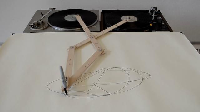 Robert Howsare: Drawings Machine, Design Projects, Concept Art, Videos, Records Players, Robert Howsar, Records Art, Turntable Drawings, Drawings Apparatus