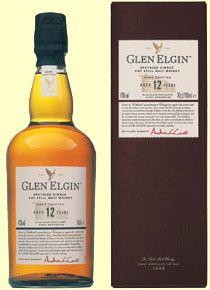 Glen Elgin malt whisky, 12 years old - Flora & Fauna series