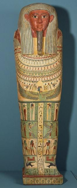 Third Intermediate-Late Dynasties XXV-XXVI Coffin of Amunred circa 715-525 B.C.E. Egypt