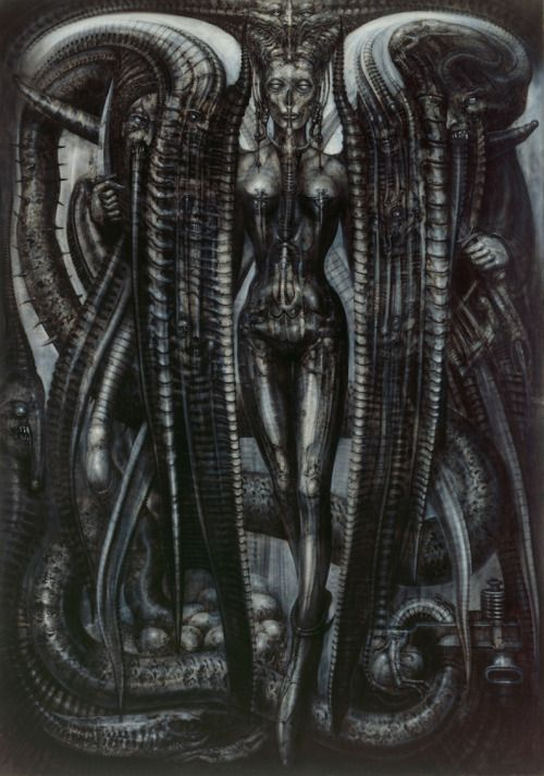 Lilith - by H.R. Giger, 1976