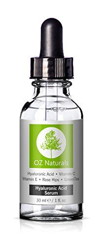 OZ Naturals - THE BEST Hyaluronic Acid Serum For Skin - Clinical Strength Anti Aging Serum - Best Anti Wrinkle Serum With Vitamin C + Vitamin E. Our Customers Call It A Facelift In A Bottle!, 1 oz. OZ Naturals http://smile.amazon.com/dp/B00C7DYBX0/ref=cm_sw_r_pi_dp_T1RFwb17R2C04