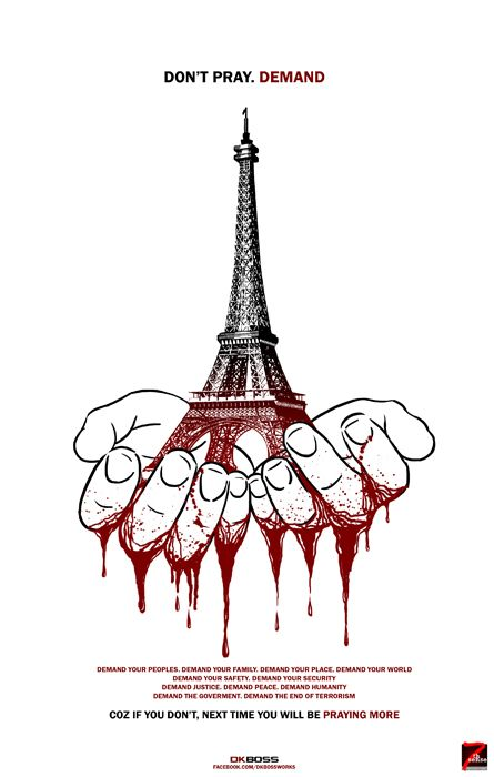 #demand #prayforparis #parisattack #paris #terrorism #terror #peace #dkboss7 #save #world #france #terroristattack