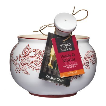 Kitchen Craft World of Flavours Indian Pestle and Mortar - Yuppiechef