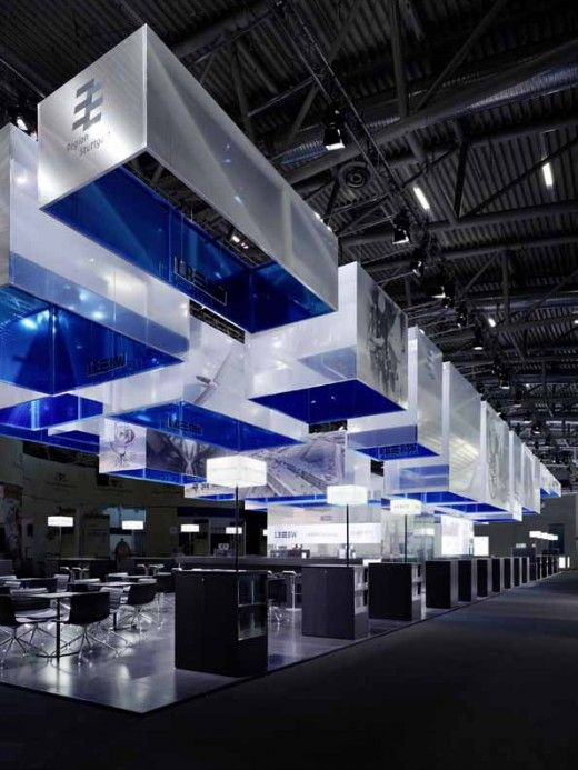 Exhibition Booth Inspiration : Fair stand at exporeal by ippolito fleitz group