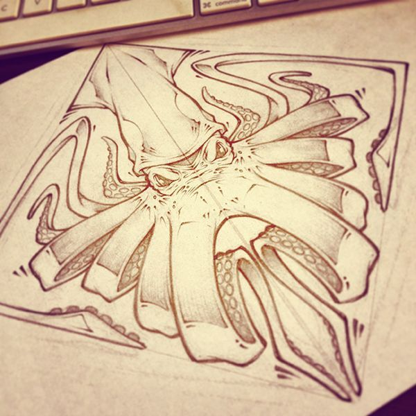 LUNCH SCRIBBLES by Craig Patterson - Absorb81, via Behance: