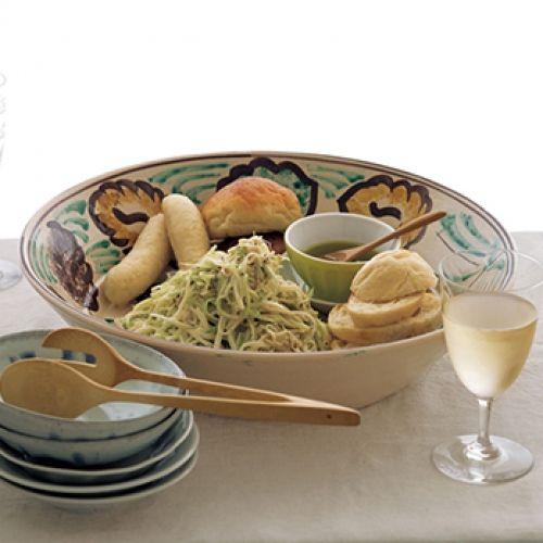 セロリとツナのクミン風味のサラダ
