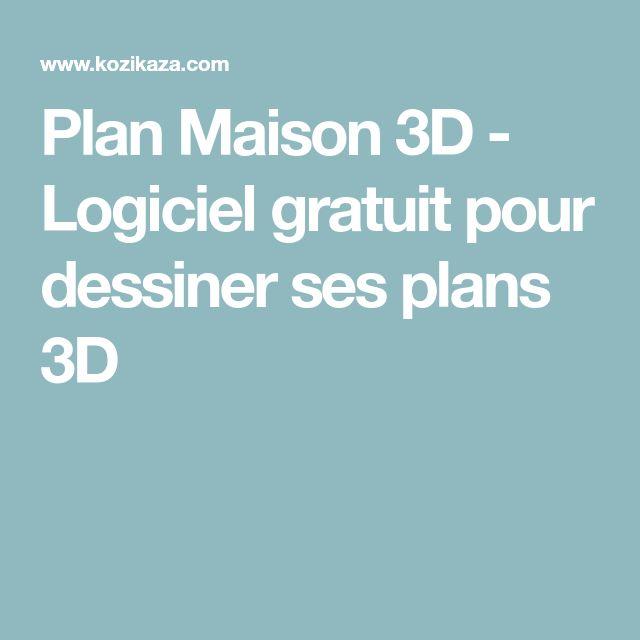 les 25 meilleures id es de la cat gorie logiciel plan 3d sur pinterest logiciel plan 3d. Black Bedroom Furniture Sets. Home Design Ideas