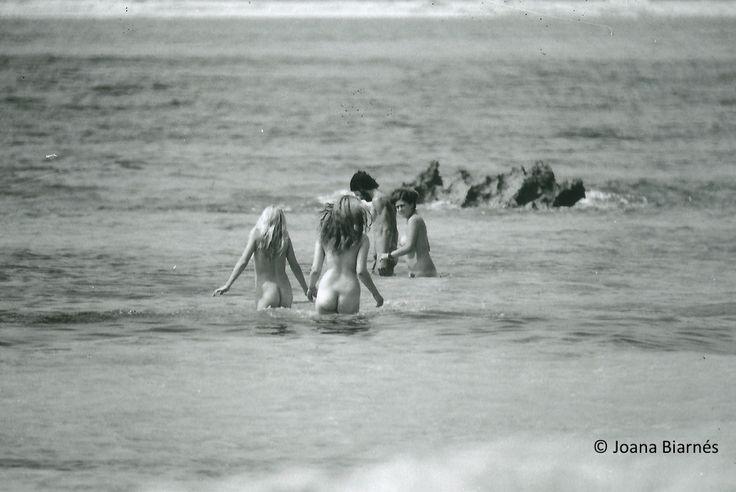 los nudistas de Ibiza en los 70's. Joana Biarnés