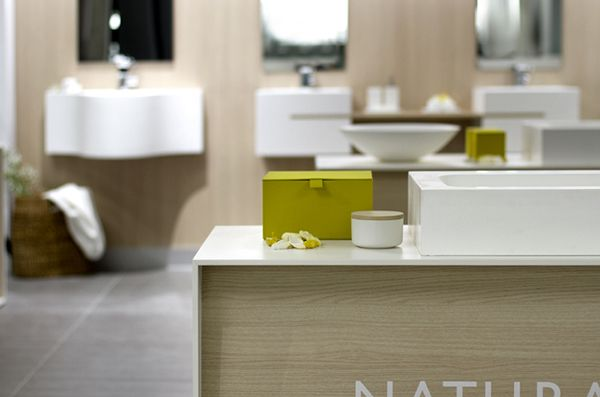 The Bathco · Showroom Santander by Enblanc, via Behance
