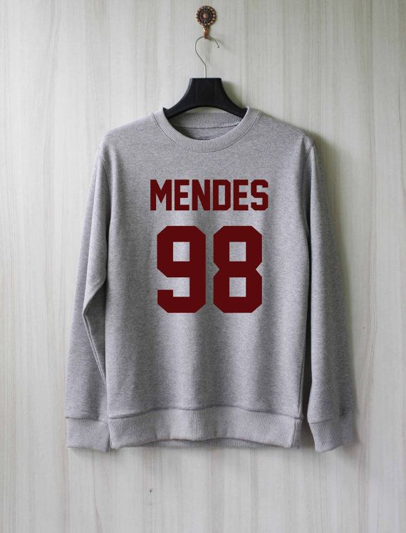 Mendes 98 Shawn Mendes Sweatshirt Sweater Shirt Size XS by SaBuy