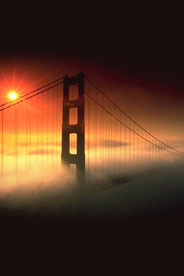San Francisco Fog Map Live%0A Sunset fog  Golden Gate Bridge San Francisco Ca