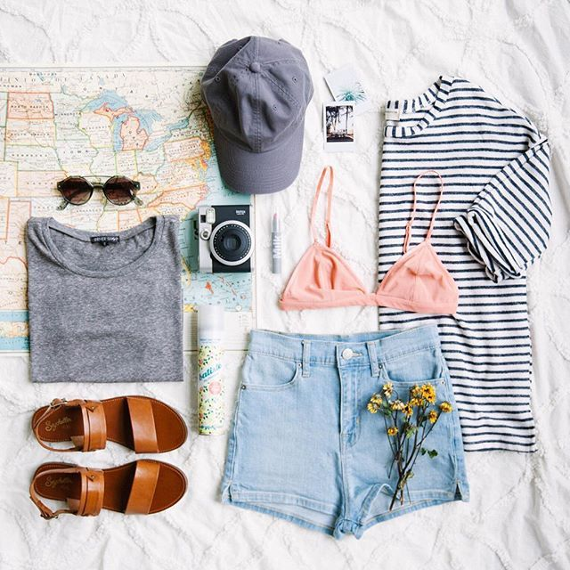 Road trip packing: done. Follow us on Snapchat at urbanout to see all of our #UORoadtrip must haves and learn how you could win a trip to the final stop: Miami! #UOonYou