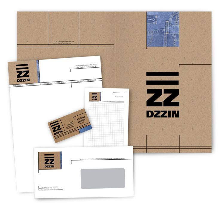 Разработка фирменного стиля для магазина джинсовой продукции