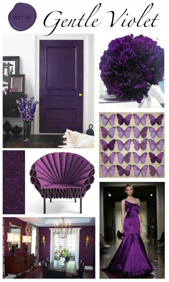 Gentle Violet 2071-20, is our Benjamin Moore Colour Of The Month.