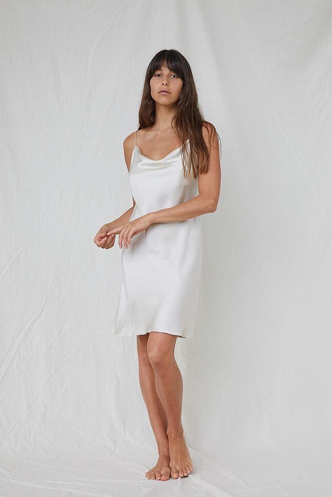 Ivory Silk Slip Dress Slip Dress Silk Slip Dress Dresses