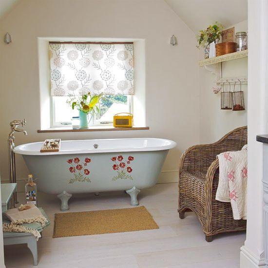 Trend-körkép: A Country stílusú fürdőszoba varázsa
