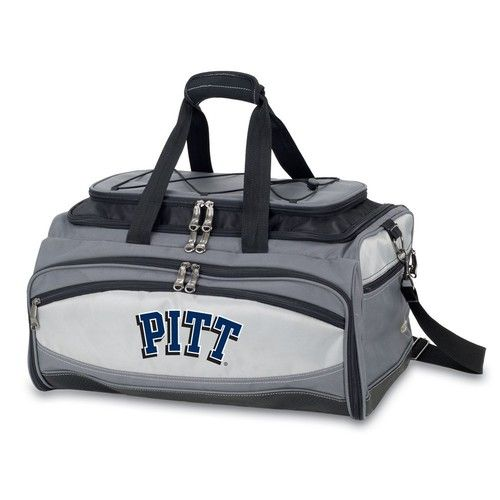 Pitt University Panthers BBQ Grill & Cooler Tailgate Set