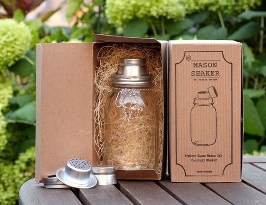 Erin, I thought of you when I saw this...although we follow the same blogs so you probably saw it too...The Mason Jar Cocktail Shaker: The Logical Next Step in Mason Jar Mania