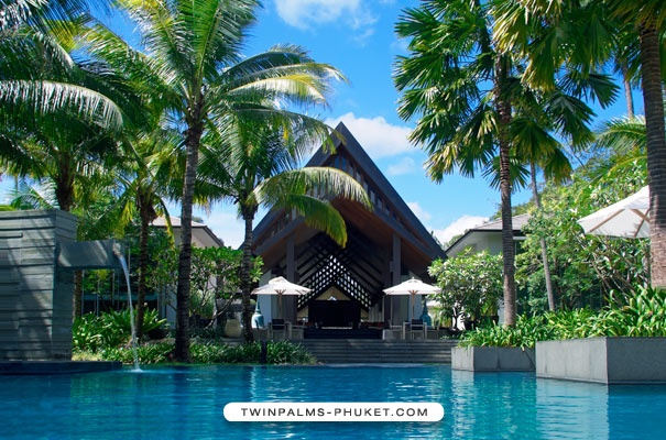 Un hotel que merece la pena.  Twinpalms-Phuket