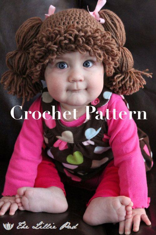 He encontrado este interesante anuncio de Etsy en https://www.etsy.com/es/listing/104446678/cabbage-patch-kid-inspired-hat-crochet