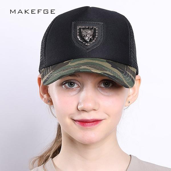 #FASHION #NEW Brand trucker Camo Baseball Cap Fishing Caps Men Dad Outdoor Hunting Camouflage Jungle Hat Tactical Hiking Women Snapback Hats