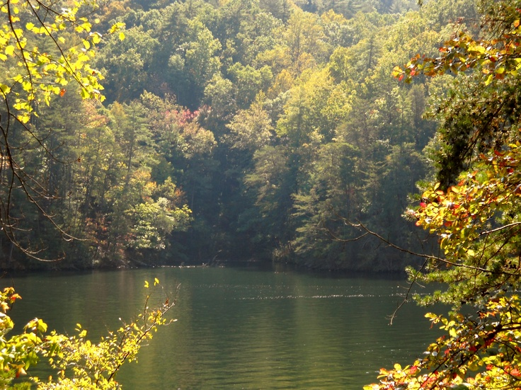 Cherokee NC- so beautiful there...Cherokee Reservation is pretty neat... Some of my heritage comes from the Cherokee Nation.