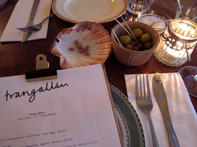 Trangallan - great for bazaar entertainment and ever-changing tapas menu...try the Spanish Tortilla, you'll order more http://www.trangallan.com/