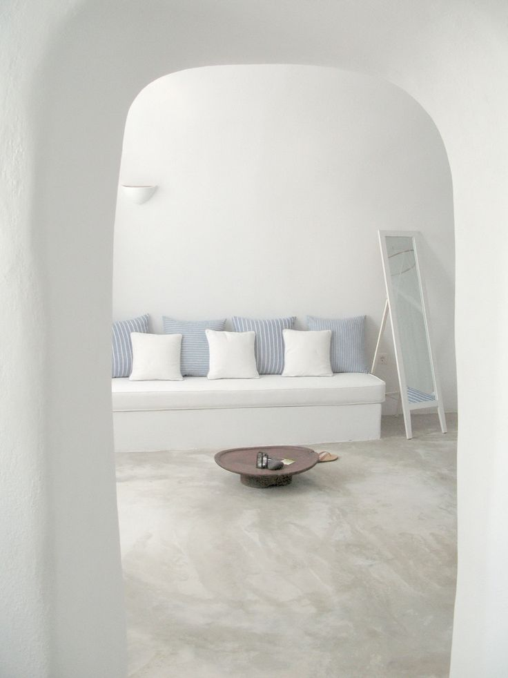 my future living room. On a Greek Island. Far,far away.