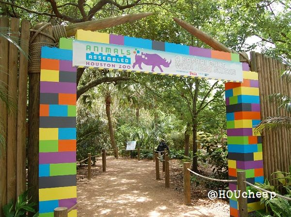 New LEGO Safari Exhibit at Houston Zoo: Animals Assembled, Summer 2013 + $4 Off Zoo Coupon http://www.pinterest.com/TakeCouponss/houston-zoo-coupons/