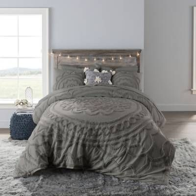 Product Image for Anthology™ Tufted Medallion Comforter Set 1 out of 1