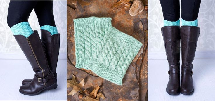 MINT! our favourite flavour this winter #bootcuffs #bootsocks #mademoiselle