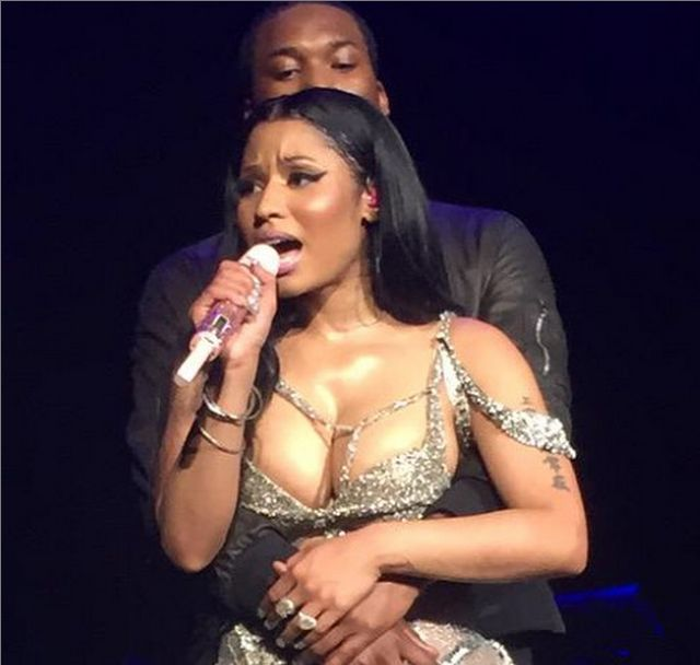 It Was All Good: A Gallery Of Pics Of Meek Mill And Nicki Minaj In Happier Times  Meek Mill And Nicki Minaj Before The Breakup   If reports are to be believed,  Nicki Minaj and Meek Mill  are either done or very close to it. But they were so, so in love at one point. Meek was losing battles and didn't care because he had Nicki. Nicki was twerking for him on the Gram it was all to the good.          Meek was even kissing on her feet and everything. It was all good a week ago. Welp…let..