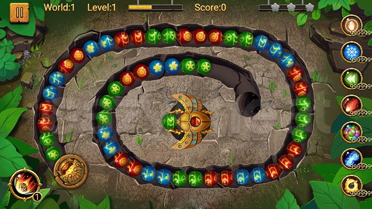 Update Jungle Marble Blast 1 6 7 Cheat Unlimited Coins Life And Powerups Https Ezche At Jmb Marble Blast Android Games Coins
